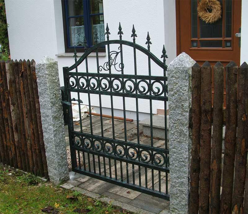 Indiviualisierung schmiedeeisen Zaun